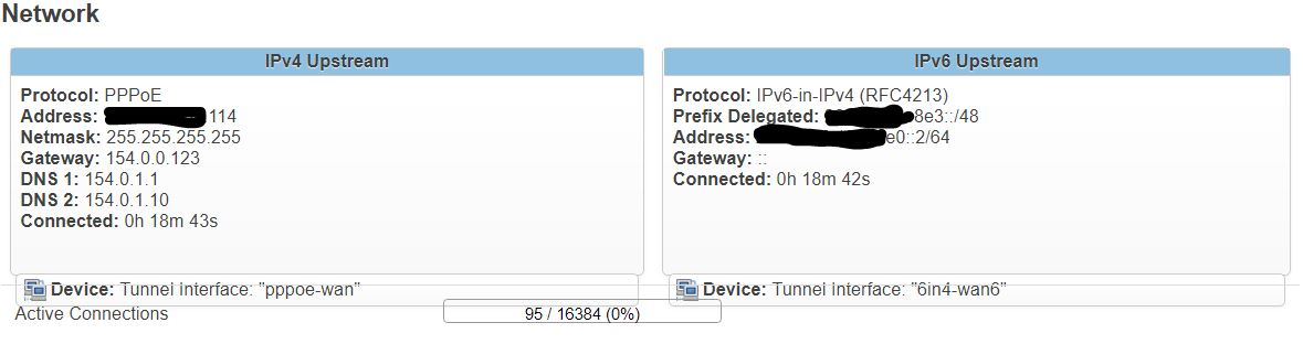 Tunnelbroker ipv6 - LAN cannot ping - Network and Wireless