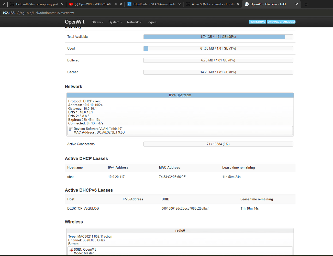 Help with Vlan on raspberry pi 4 - Network and Wireless ...