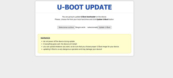 uboot update