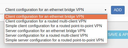 OpenVPN configurations - Installing and Using OpenWrt - OpenWrt Forum