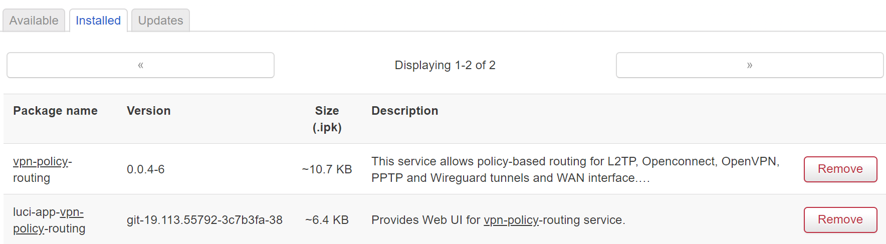 VPN Policy-Based Routing + Web UI -- Discussion - Community
