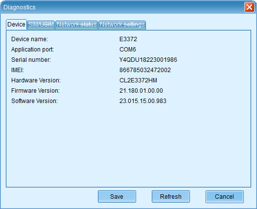How to setup Huawei E3372h-607 with NCM LTE - Network and