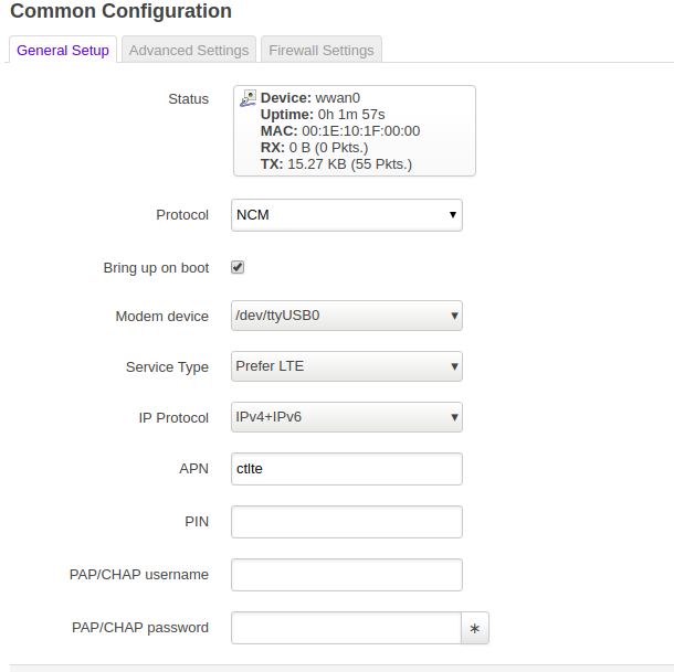 How to setup Huawei E3372h-607 with NCM LTE - Network and Wireless