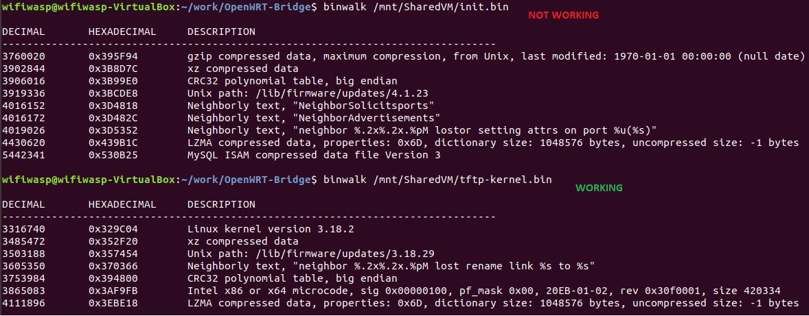 Building a initramfs image - For Developers - OpenWrt Forum
