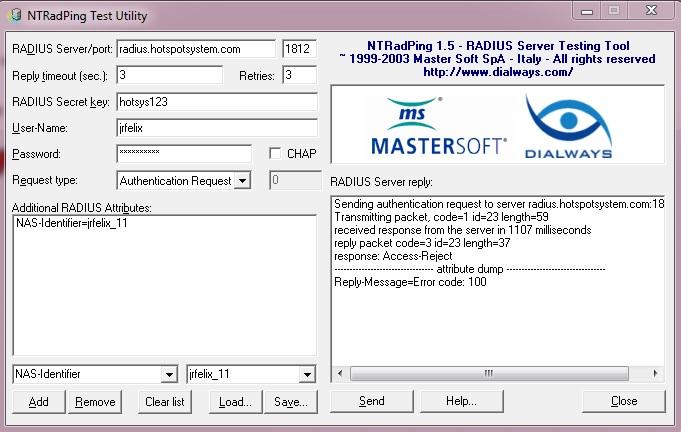 Hotspotsystem ports configuration - Network and Wireless