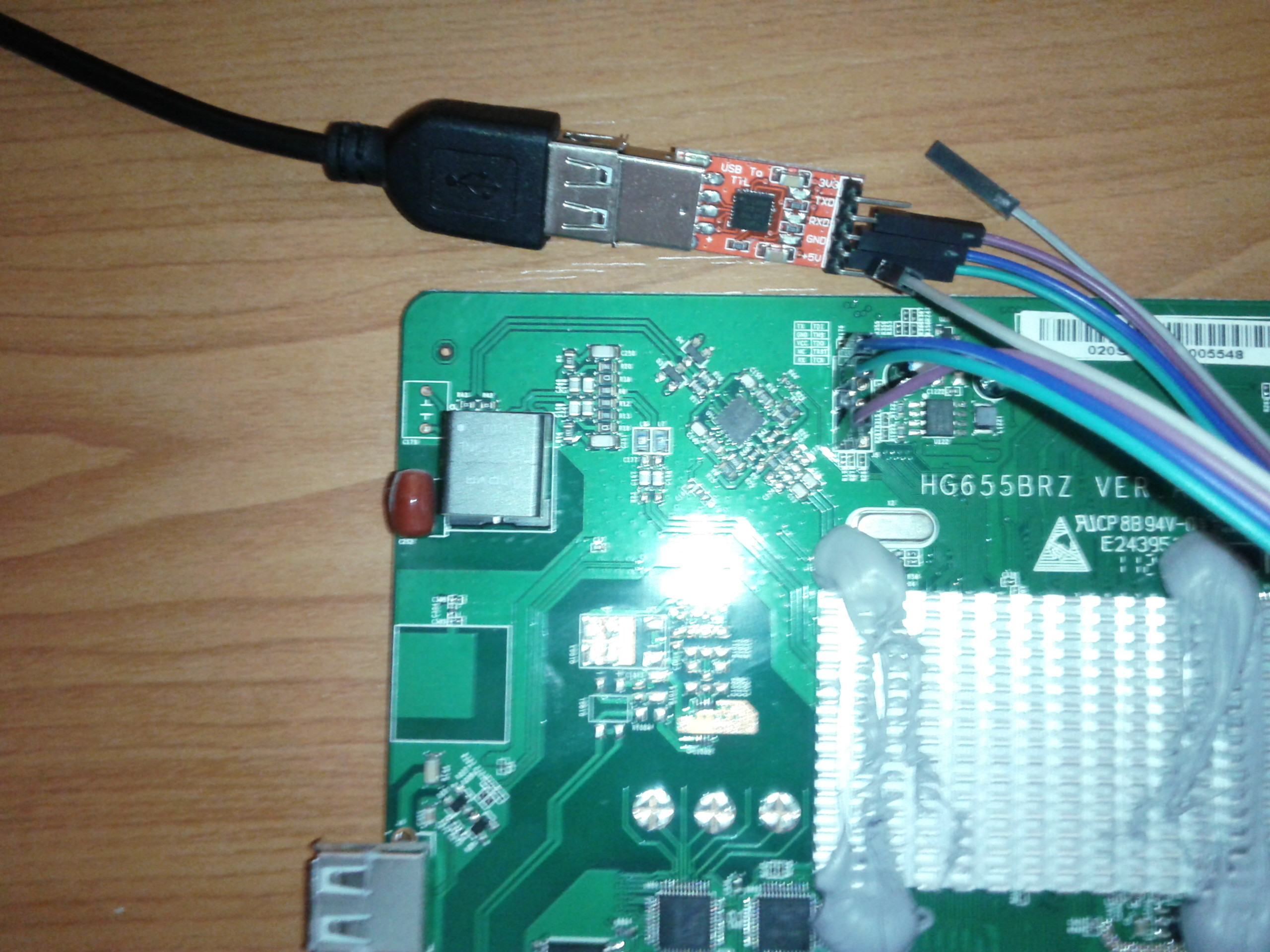 SOLVED] Something wrong in firmware on HG655b - Installing and Using