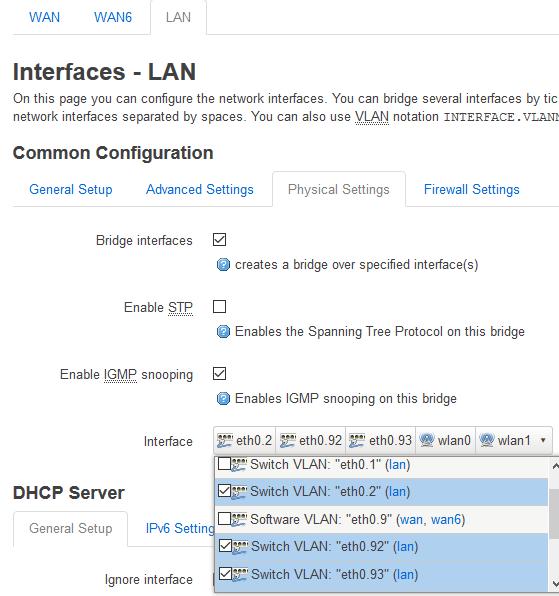 interface-lan